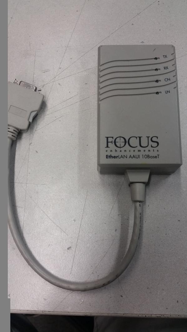 Network Peripherals Focus Enhancements Etherlan