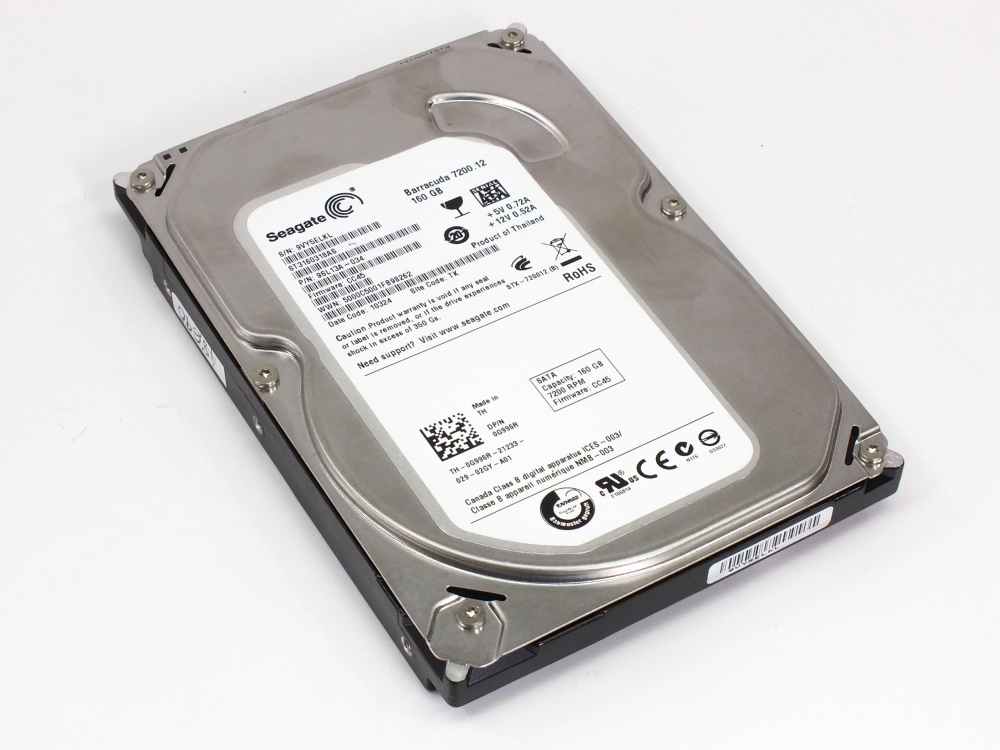 Seagate ST3160318AS SATA Drive Drivers for Windows 7