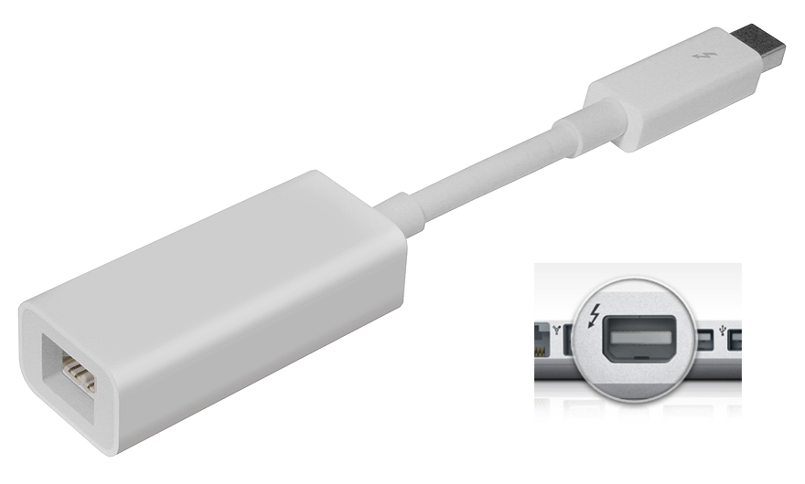 Cables, Adapters, Assembly: Thunderbolt to FireWire Adapter